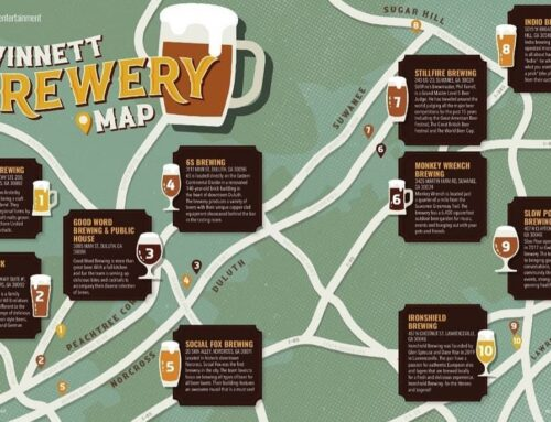Gwinnett County Brewery Map